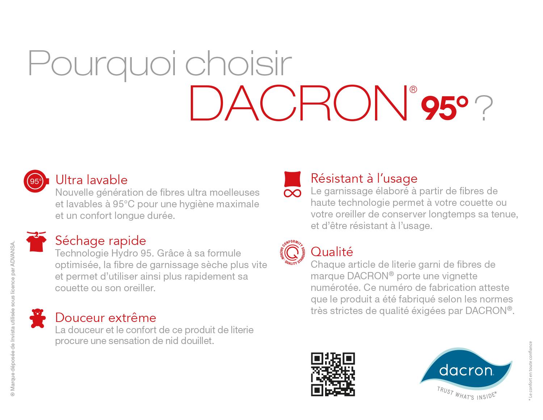 Pourquoi choisir DACRON® 95°