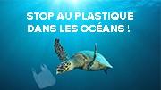 Stop au plastique dans les oceans